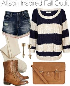 #teen wolf #fashion #fall #tw: allison argent