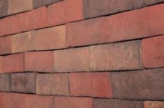 BuildDirect – Manufactured Stone - Brick Stone – New York Brown - Angle View