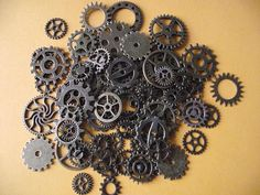 Your place to buy and sell all things handmade Watch Gears, Scrapbooking, Bronze, Cardmaking, 50th, Crafts, Imagination, Etsy, Design
