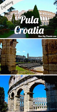 Pula, a seafront city on Croatia's Istrian Peninsula, is best known for its surviving ancient Roman buildings including a 1st century amphitheater where you can experience the buzz of the arena and the gladiators.