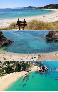 Playas tan bonitas como estas se encuentran más cerca de lo que imaginas. 6 playas paradisíacas de la costa española #Verano #Playa #Paraíso