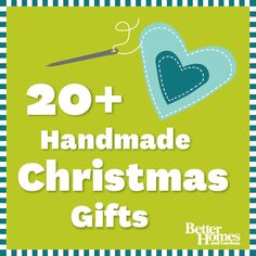 Friends and family will love these #handmade #Christmas gifts! Get the full list here: http://www.bhg.com/christmas/gifts/cute-and-practical-handmade-christmas-gifts/