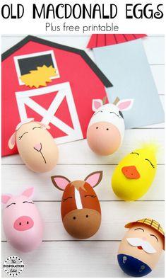 Easter art for kids crafts free printable New Ideas Easter Art, Easter Crafts For Kids, Easter Eggs, Diy Crafts For Kids, Fun Crafts, Art For Kids, Craft Kids, Easter Activities, Preschool Crafts