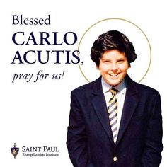 "St. Paul Street Evangelization on Instagram: ""Carlo Acutis was born on May 3, 1991, in London, England. His parents, Andrea and Antonia Acutis, were natives of Italy and the family…"""
