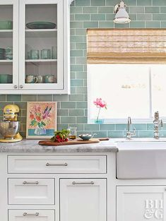 Prodigious Useful Ideas: Kitchen Remodel Backsplash Budget small kitchen remodel paint.Mid Century Kitchen Remodel Apartment Therapy kitchen remodel before and after concrete counter.Kitchen Remodel Ideas Mobile Home. White Kitchen Cabinets, Kitchen Cabinet Design, Diy Kitchen, Kitchen Ideas, Ranch Kitchen, Kitchen Decor, Kitchen Wood, Oak Cabinets, Floors Kitchen