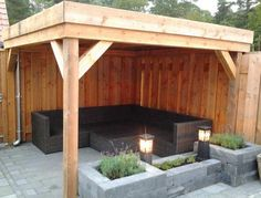 Picture result for the small vault, # picture result house – Small Balcony Decor Ideas Pergola Patio, Backyard Patio, Backyard Landscaping, Back Gardens, Outdoor Gardens, Outdoor Rooms, Outdoor Living, Patio Design, Garden Design