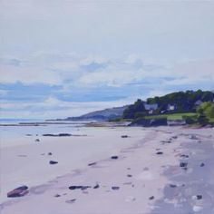 John BELL-Whiting Bay - Scottish artist and paintings at www.scottishartpaintings.co.uk
