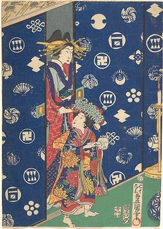 Utagawa Kunisada I and his school   Period: Edo period (1615–1868) Date: 19th century Culture: Japan Medium: Polychrome woodblock print; ink and color on paper