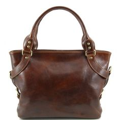 Leather shoulder bags for women - Ilenia - Leather shoulder bag TL140899