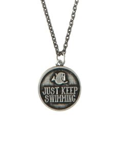Disney Finding Nemo Keep Swimming Necklace | Hot Topic