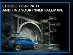 Ride the night and unleash your Inner Paceman. Mini Paceman, Mini Clubman, Choose Your Path, Paths, Meet, Night, Car, Blue, Automobile