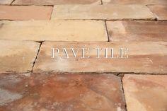 French Reclaimed Terra Cotta Tile Flooring