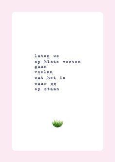 blote voeten #poëzie #versjes #gedichten