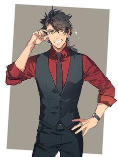 Mutsunokami Yoshiyuki | Touken Ranbu Anime Character Drawing, Character Art, Touken Ranbu Mikazuki, Mutsunokami Yoshiyuki, Manga Hair, Online Manga, Hot Anime Boy, Bishounen, Handsome Anime Guys