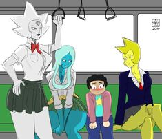 See more 'Steven Universe' images on Know Your Meme! Blue Diamond Steven Universe, Steven Universe Anime, Steven Universe Ships, Steven Universe Wallpaper, Steven Universe Funny, Anime Meme, Steven Univese, Pearl Steven, Mundo Comic