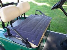 Golf Cart Seat Cover a Fashionable, Functional Accessory to Any Golf Cart,  Seat Cover Makes a Terrific Gift for Your Favorite Golfer by Sittinprettycovers on Etsy https://www.etsy.com/listing/130816069/golf-cart-seat-cover-a-fashionable