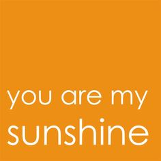 Textworks You Are My Sunshine Limited Edition Wall Art Text Panel by numsi