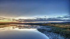 the river at sunset #hdr #photography #arthakker