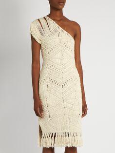 Tuva hand-macramé silk and wool-blend dress   Tabula Rasa   MATCHESFASHION.COM UK