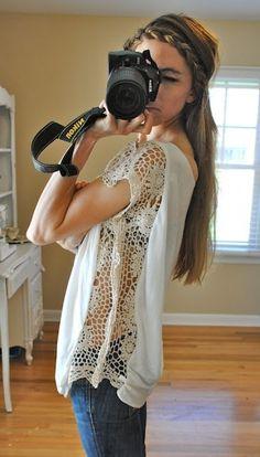 Leuk om zelf te maken | Goed idee voor dat ene te krappe favoriete shirt Door Safoera