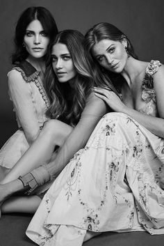 25x7: Luciana Curtis, Ana Beatriz Barros, Cintia Dicker by Nicole Heiniger for Marie Claire Brazil April 2016 - Gucci