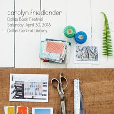 Carolyn Friedlander_Dallas Book Festival