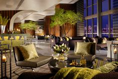 Located within this Downtown Miami hotel, Amuse Restaurant & Lounge at Casa Moderna Hotel offers a seasonal array of organic cuisine with stunning panoramic views of Biscayne Bay.