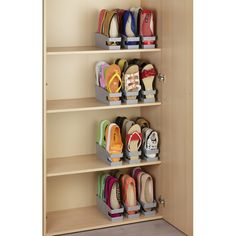 Home Discover Set Schuhhalter für Ballerinas Set of 6 shoe racks for ballerinas Closet Bedroom Bedroom Storage Girls Room Storage Shoe Storage Accessories Organizar Closets Wall Mounted Shoe Rack Garderobe Design Space Saving Shoe Rack Diy Shoe Rack Shoe Storage Accessories, Diy Shoe Storage, Diy Shoe Rack, Storage Hacks, Cord Storage, Shoe Racks, Flip Flop Storage, Shoe Storage In Wardrobe, Storage For Shoes