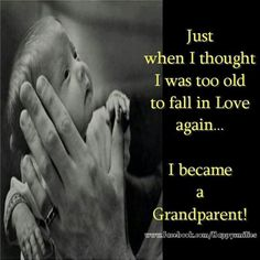 grandparents,grandchildren,granddaughters,grandsons, grandma quotes Use this quote for Fred and change it to Grandaddy Grandson Quotes, Quotes About Grandchildren, Grandkids Quotes, Falling In Love Again, Grandma And Grandpa, First Time Grandma, Mom Quotes, Quotes Kids, Grandparents