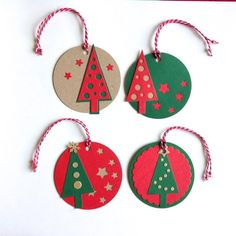 Creative Gift Wrapping, Creative Gifts, Gift Bags, Christmas Ornaments, Christmas Ideas, Crafts For Kids, Big Shot, Recycling, Wraps