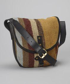 Black & Brown Mimi Wool Shoulder Bag. Would be perfect for Coachella @Sam Taylor Heinsohn