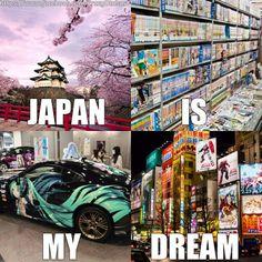 Why Japan are you so far! Anime Meme, Manga Anime, Otaku Meme, Me Anime, Anime Japan, I Love Anime, Go To Japan, Japan Japan, Otaku Problems