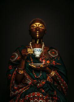 Haris Nukem: The Fashion Photographer Capturing the Human Spirit Afro Punk, Fotografie Portraits, Afrique Art, Arte Cyberpunk, Spirited Art, Black Girl Aesthetic, Aesthetic Women, Afro Art, African Culture