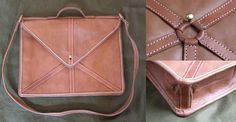 Leather 'Loculus' - Soldier's satchel - Click Image to Close