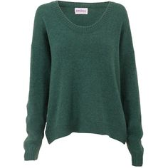 Cashmere Gauzy Jumper ❤ liked on Polyvore
