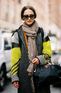 New York Fashion Week AW 2013  #streetstylebijoux, #streetsyle, #bijoux