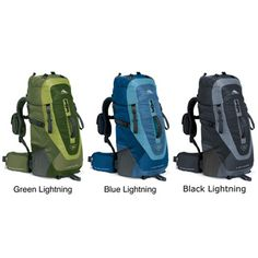 @Overstock - This 23-inch nylon backpack from High Sierra is great for hiking in the outdoors. With a tuck away rain cover, hydration ports and comfortable shoulder straps, this backpack offers protection and comfort.   http://www.overstock.com/Sports-Toys/High-Sierra-Lightning-30L-Internal-Frame-Backpack/6514416/product.html?CID=214117 $44.49