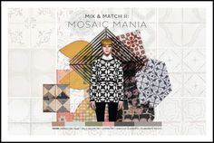 DESIGN COMPETITION // FRONT ROW SOCIETY - MIX AND MATCH: MOSAIC MANIA