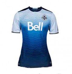 Deep Sea Blue Medium MLS New York City FC Womens Replica Short Sleeve Team Jersey