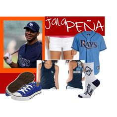 My outfit dedicated to Carlos Pena...hott like a jalaPENA