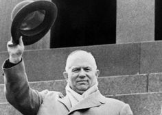 Stalin died in 1953 and is replaced by Khrushchev. Khrushchev was the leader of the soviet union for part of the Cold War. He built the Berlin Wall to keep people in and away from the non-communist side of Berlin and prevent movement.