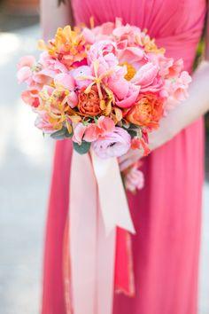 Tropical + Colorful Caribbean Wedding - Style Me Pretty Wedding 2015, Mod Wedding, Floral Wedding, Summer Wedding, Dream Wedding, Wedding Ideas, Wedding Stuff, Chic Wedding, Wedding Inspiration