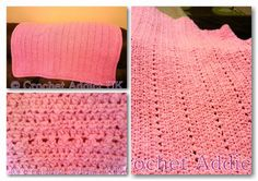 Free Crochet Pattern ~ Lucky Candy Kisses Baby Cot Blanket ~ Crochet Addict UK ~ New #Free #Crochet #Pattern ~ Lucky Candy Kisses #Baby #Cot #Blanket http://www.crochetaddictuk.com/2014/01/free-crochet-pattern-lucky-candy-kisses.html
