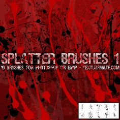 Download Halloween and Horror Themed Photoshop Brushes | Photoshop Roadmap