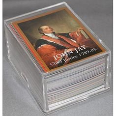 Perfect Gift for Your Lawyer or Law StudentThis is a complete set of cards each showing one of all existing and prior Supreme Court Justices. It is a set of 129 cards. Cool Gifts, Best Gifts, Lawyer Gifts, Supreme Court Justices, Law School, Trading Cards, Counseling, Lawyers, History