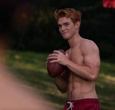 """A"" is for Archie Andrews, already in training for fall football season. Onl… ""A"" is for Archie Andrews, already in training for fall football season. Only 47 days until returns… Kj Apa Riverdale, Riverdale Aesthetic, Riverdale Cast, Watch Riverdale, Archie Andrews Riverdale, Riverdale Archie, James Fitzgerald, Fall Football, Football Season"