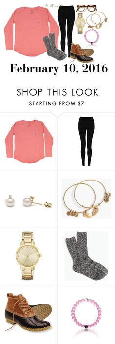 """""""February 10, 2016"""" by jennie-le on Polyvore featuring M&S Collection, Alex and Ani, Kate Spade, J.Crew, L.L.Bean, women's clothing, women's fashion, women, female and woman"""