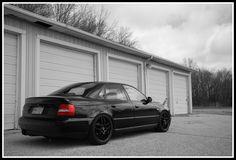 Black Audi A4 B5