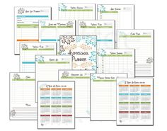 Homeschool Planner - Classroom Organizer - Lesson Planner - Teacher Planner - Field Trip Planner - Lesson Plans