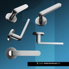 DOOR handles - project 2010 by Radek Nowakowski, via Behance